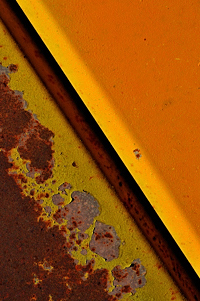 abstract photograph, abstration, Raton Junkyard, diagonal, Tim Keller