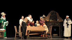 """A Christmas Carol"" at Shuler Theater, Raton NM, 2011"