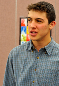James Neary, Poetry Out Loud, Raton NM 2011