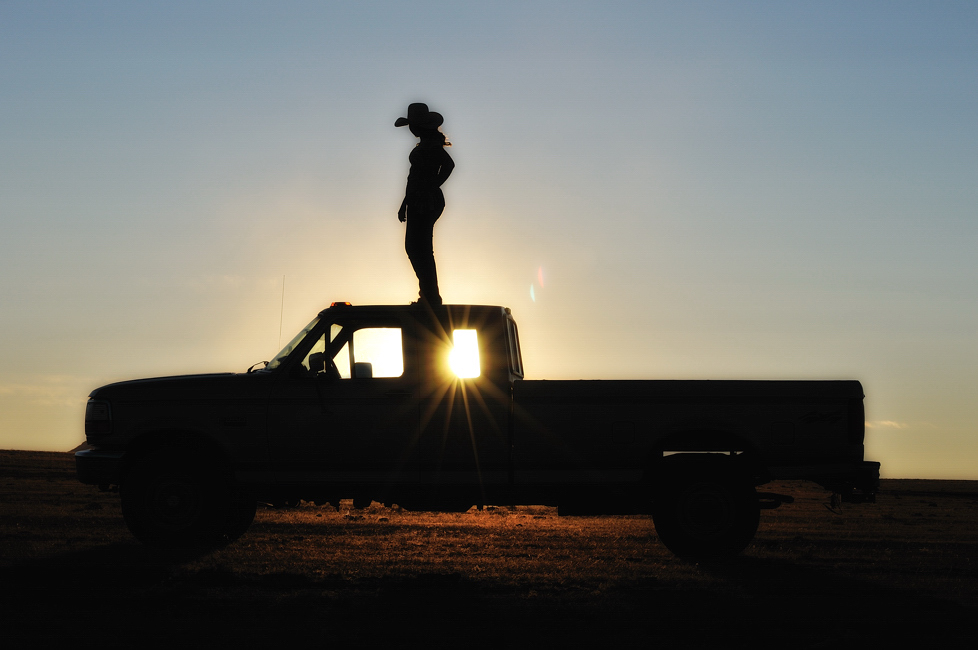 Pick Up Truck Silhouettes