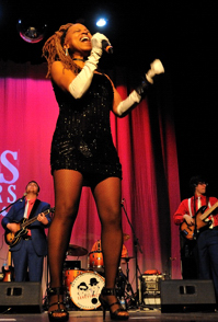 Arnae Batson - The Official Blues Brothers Revue, Shuler Theater 2012
