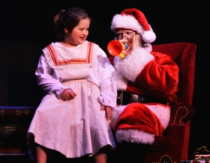 Rick Trice as Santa in Miracle on 34th Street