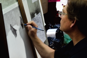 Dino Cornay at work
