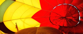 Hot air balloon by Tim Keller