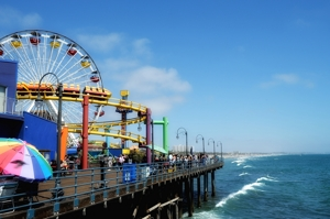 Santa Monica Pier 2013 by Tim Keller