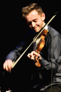 James Abrams, violin, The Abrams Brothers 2014