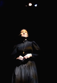 "Nora Leahy as the governess in ""The Turn of the Screw"" - Shuler Theater 2014"