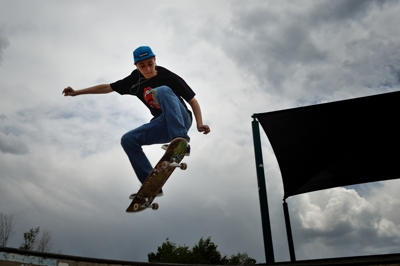 Frisco Duran at Trinidad Skatepark, 2014