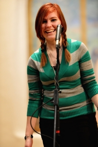 Rachel Patty at NM Poetry Out Loud final 2014