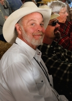 Michael Hearne at Taos Barndance 2014