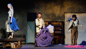 "Cassie Thompson, Stephen Peebles, Nick Pappas-""Into the Woods""-Shuler Theater 2015"