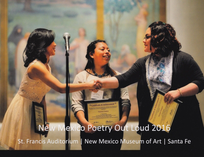 New Mexico Poetry Out Loud 2016 - book photography by Tim Keller