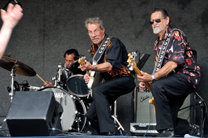 George Tomsco and The Fireballs at Albuquerque Centennial Summerfest, 2012, by Tim Keller