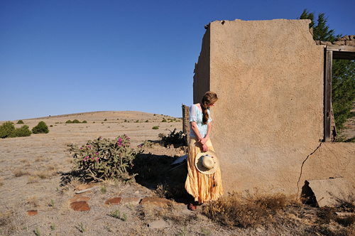 """Curve"" by Tim Keller, Christina Boyce, New Mexico, 2008"