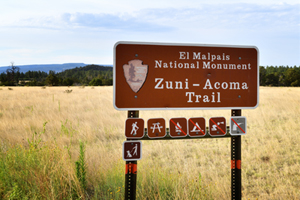 Zuni-Acoma Trail, El Malpais National Monument