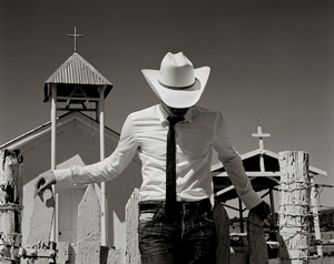 "Kurt Markus's ""Shane Johnson, Raton, New Mexico, 2005"" for Japanese GQ"