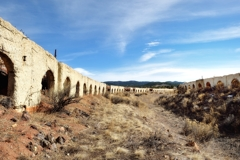 Coke ovens at Cokedale, Colorado, Highway of Legends