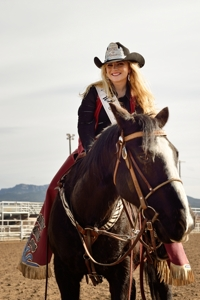 Janna Mills, Rodeo Queen