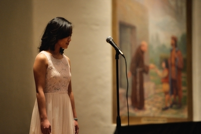 Michelle Zhou, Poetry Out Loud, Santa Fe 2016