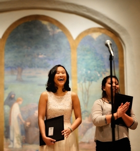 Michelle Zhou, winner, Poetry Out Loud, Santa Fe 2016