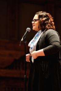 Oceana Vasquez, Poetry Out Loud, Santa Fe 2016