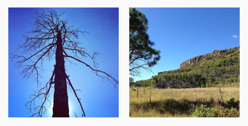 Hiking in Sugarite Canyon State Park, Raton, New Mexico, by Tim Keller