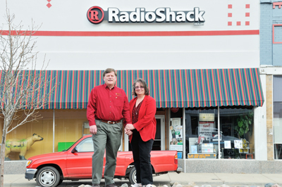 Dorothy and Alan Best, Radio Shack, Raton NM