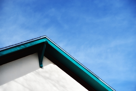 Roofline in blue