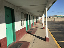 Kansan Motel, Liberal Kansas, by Tim Keller