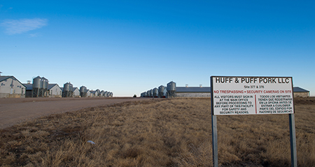 Huff & Puff Pork LLC, Lakin Kansas, by Tim Keller