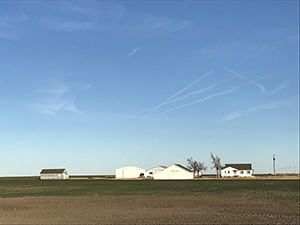 Salley farm, Liberal Kansas by Tim Keller