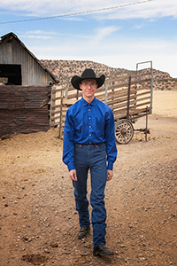 Cole Lewis, Brown Ranch, Folsom NM 2018 by Tim Keller Photography