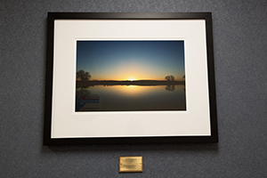 """Oasis State Park at Sunrise"" by Tim Keller Photography, at Roosevelt General Hospital, Portales, 2018"