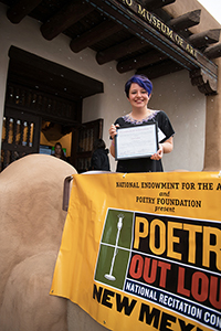 Zoe Sloan Callan, NM Poetry Out Loud 2018 champion