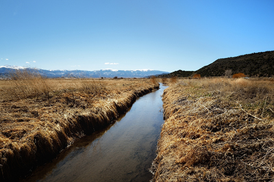 People's Ditch, San Luis, Colorado, by Tim Keller