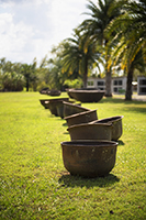 sugar cane pots used by slaves, Whitney Plantation