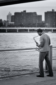 Sax - Brooklyn Bridge Park saxophone