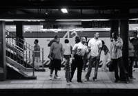 Subway Spat - Times Square Station
