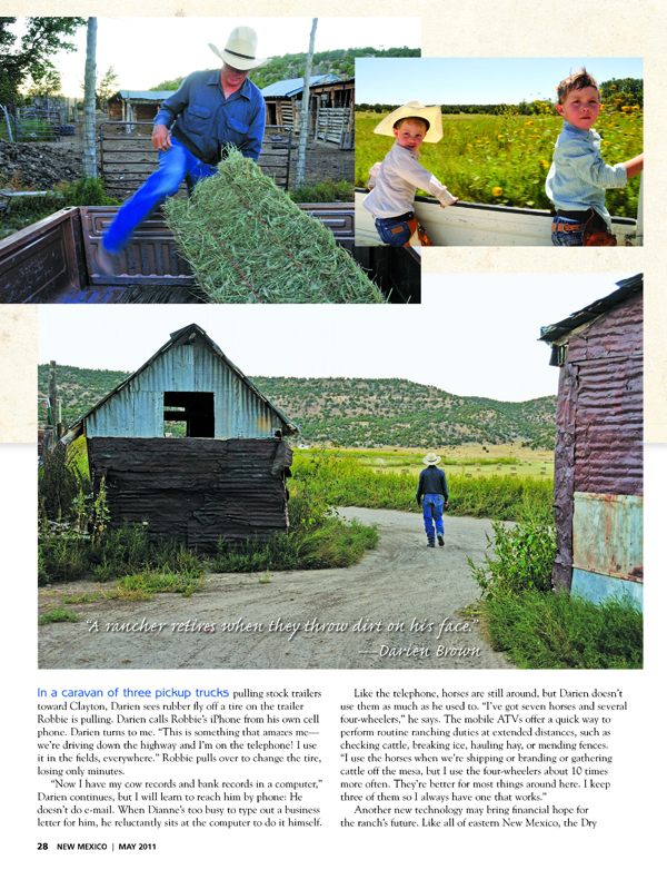 The Brown Ranch - Home on the Range - New Mexico Magazine